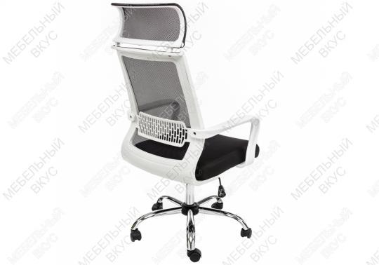 Компьютерное кресло Lion черно-белое-8