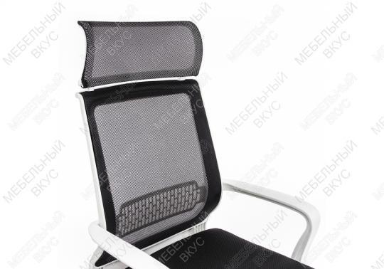 Компьютерное кресло Lion черно-белое-6
