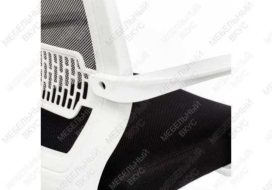Компьютерное кресло Lion черно-белое-4