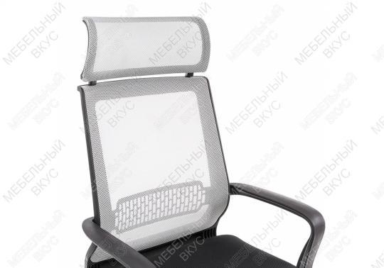 Компьютерное кресло Lion серое-7