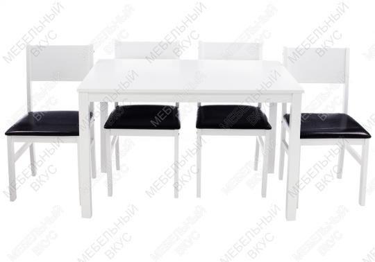 Обеденная группа Kabur (стол и 4 стула)-13