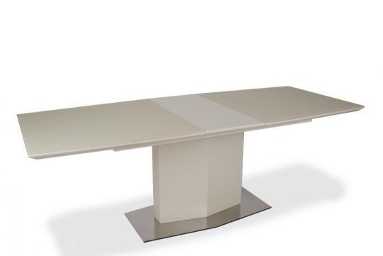 Стол обеденный SH-170 Cream МДФ+стекло-2