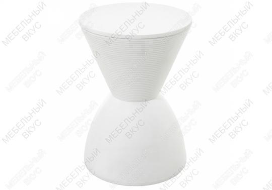 Табурет Button белый-1