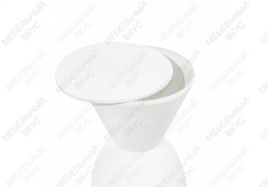 Табурет Button белый-6