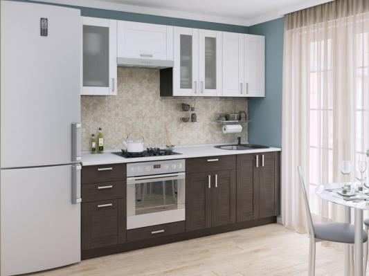 Кухня Лофт (Snow Veralinga/Wenge Veralinga)-1