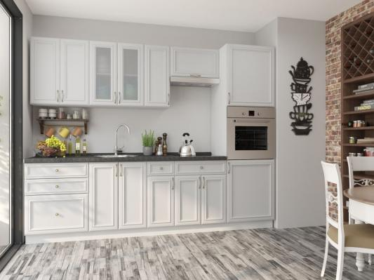 Кухня Шале (Milk Oak) угловая-2