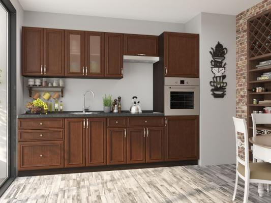 Кухня Шале (Brown Oak)-1