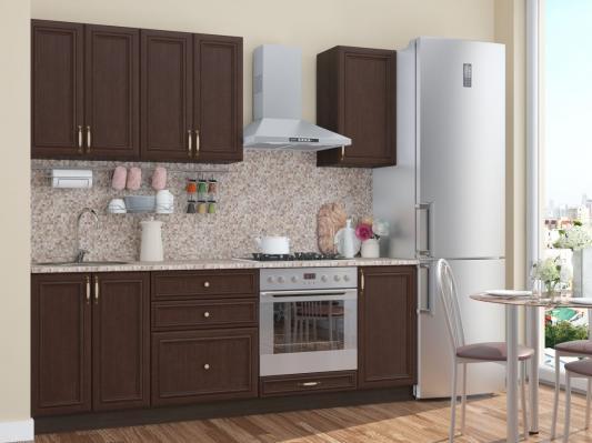 Кухня Шале (Thermo Oak) угловая-1