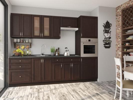 Кухня Шале (Thermo Oak) угловая-2