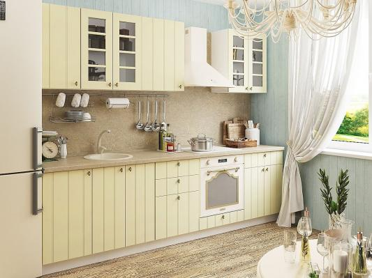 Кухня Прованс угловая (Ваниль)-2