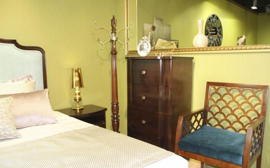 Спальня Oscar, цвет Шоколад-5