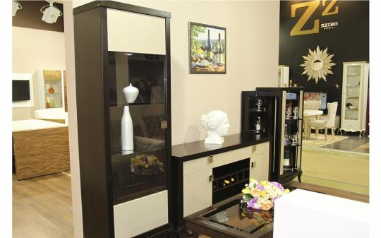 Гостиная Лавиано, цвет Венге-Американский орех-Агат-11