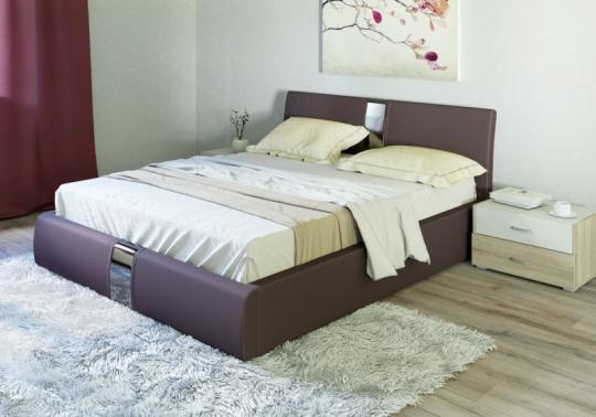 Интерьерная кровать Челси с ортопедическим основанием-1