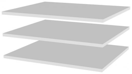 Дополнительные полки в шкаф для одежды (3 шт) ГМ-2 Магнолия-1