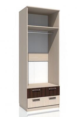 Шкаф для одежды с ящиками НМ 013.02-03 М «Рико» ЛДСП Дуб тортона-1
