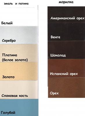 Кровать Oscar, Ш2070, цвет Шоколад, арт. 400/1-1