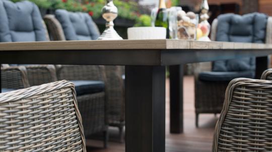 Обеденная группа: стол Парклэнд + 6 кресел Верона-6