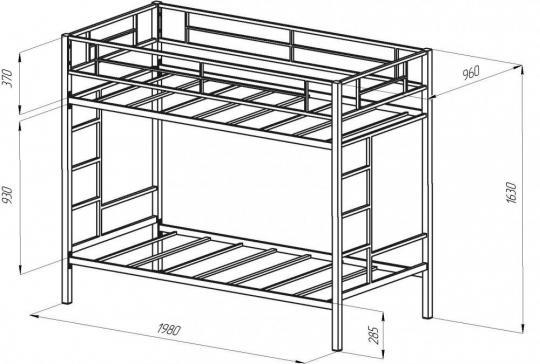 Двухъярусная кровать Севилья-1