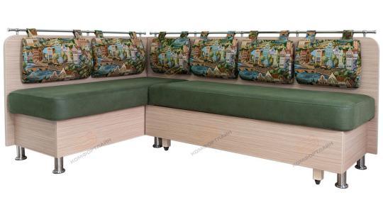 Кухонный угловой диван Сюрприз со спальным местом-3