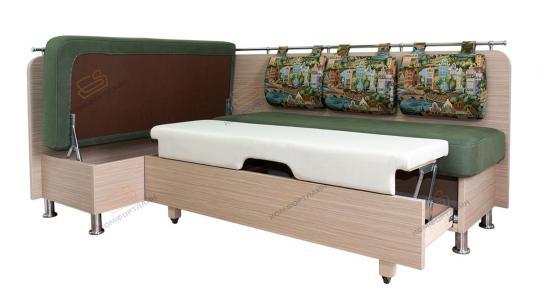 Кухонный угловой диван Сюрприз со спальным местом-4