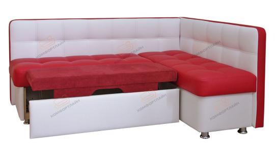 Угловой кухонный диван Токио со спальным местом-1