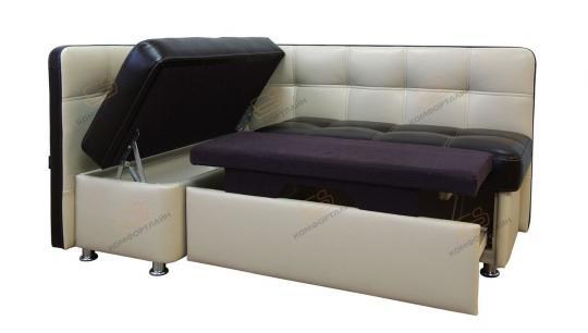 Угловой кухонный диван Токио со спальным местом-4
