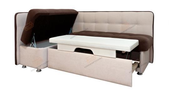 Угловой кухонный диван Токио со спальным местом-6