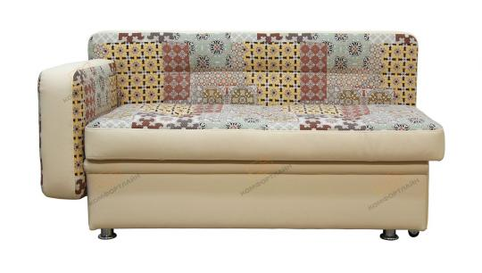 Кухонный диван Фокус прямой с 1 подлокотником-1