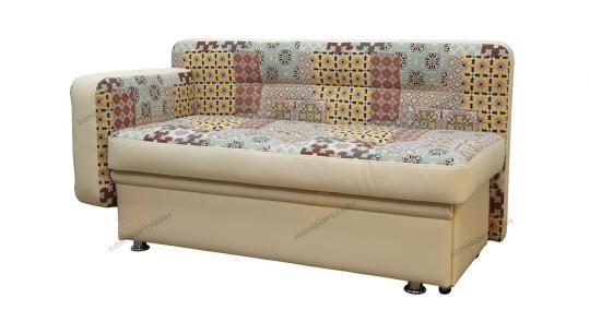 Кухонный диван Фокус прямой с 1 подлокотником-2
