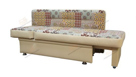 Кухонный диван Фокус прямой с 1 подлокотником-3