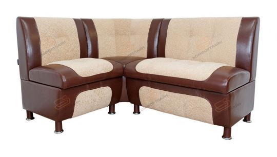 Кухонный угловой диван СЕНАТОР с ящиками-4