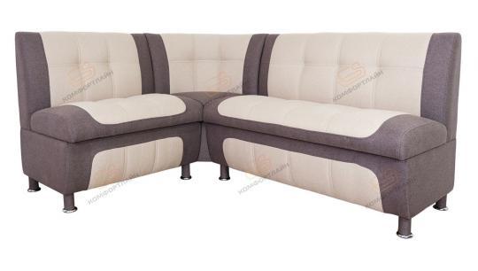 Кухонный угловой диван СЕНАТОР с ящиками-2