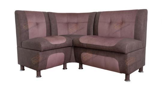 Кухонный угловой диван СЕНАТОР с ящиками-6