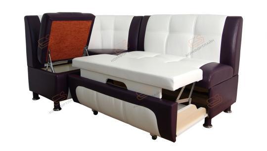 Угловой диван Сенатор со спальным местом-7