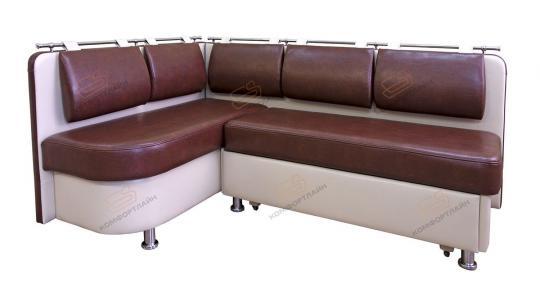 Угловой кухонный диван Метро со спальным местом дельфин-4
