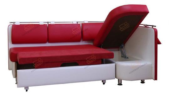 Угловой кухонный диван Метро со спальным местом дельфин-5