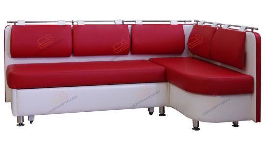 Угловой кухонный диван Метро со спальным местом дельфин-6