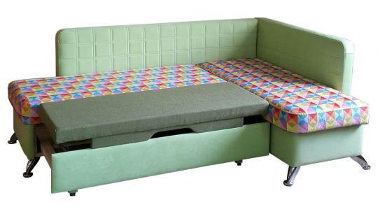 Кухонный угловой диван Фреш со спальным местом -1