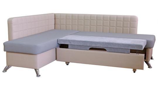 Кухонный угловой диван Фреш со спальным местом -5