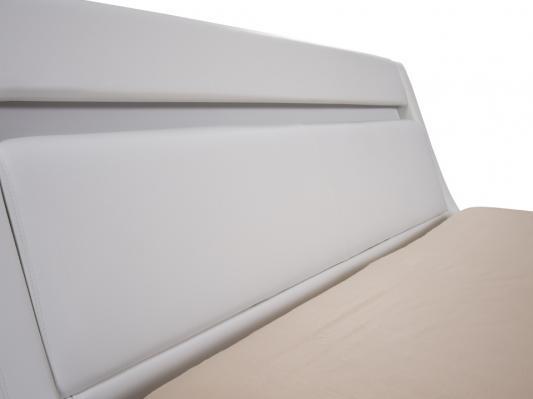 Кровать Corso-7 с орт. основанием (Белый)-2