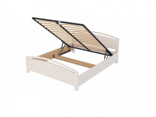 Кровать Веста 1-R с ПМ (белая эмаль)-1