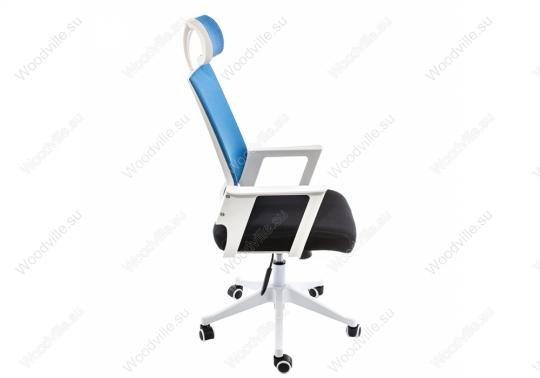 Компьютерное кресло Dreamer белое / черное / голубое-3