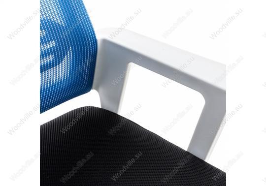 Компьютерное кресло Dreamer белое / черное / голубое-6
