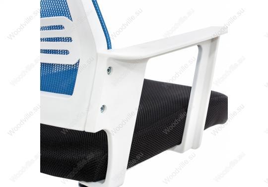 Компьютерное кресло Dreamer белое / черное / голубое-7