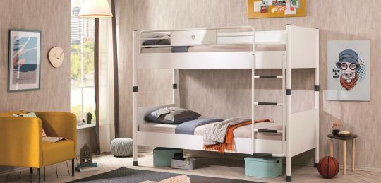 Подростковая комната White вариант 2-3