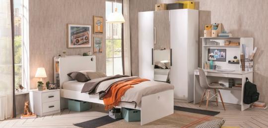 Подростковая комната White вариант 2-6