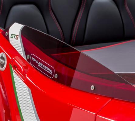 Кровать-машина GTS красная Carbed 1350-5