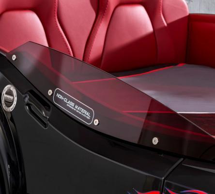 Кровать-машина GTS черная Carbed 1352-4