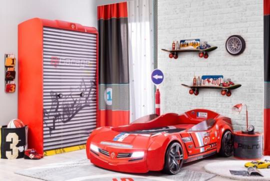 Шкаф трехдверный Champion Racer 1002-6