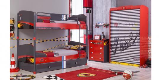 Детская комната CHAMPION RACER вариант 2-1